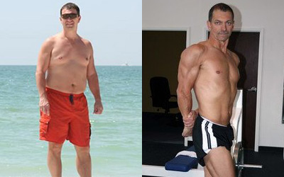 Male 40+ Body Transformations