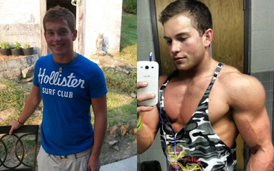 Male Teen Body Transformations