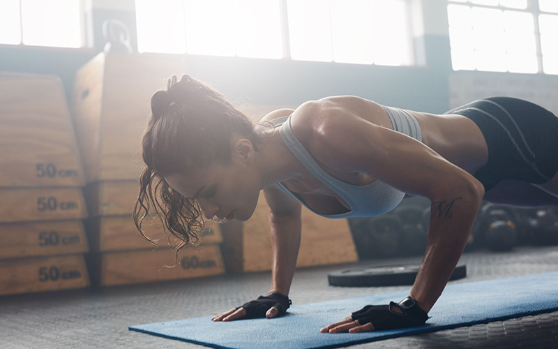 6 Ways To Challenge Yourself with the Push Up