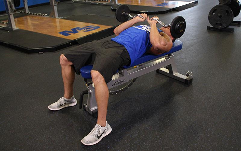 Close Grip EZ Bar Press: Video Exercise Guide & Tips
