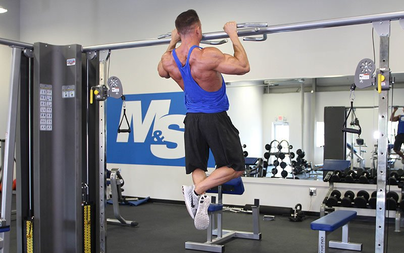 Close Grip Pull Up Video Exercise Guide Amp Tips