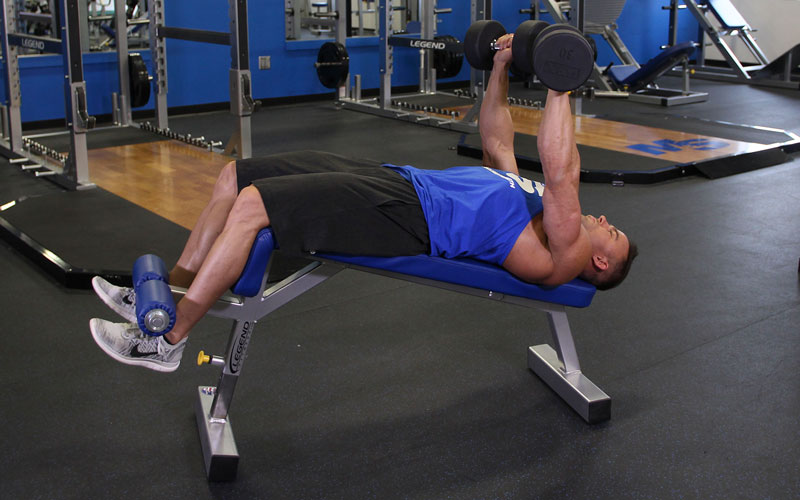 Decline Dumbbell Bench Press Video Exercise Guide Tips