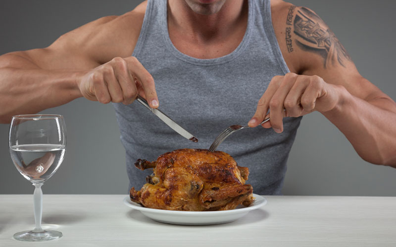 Properly Eating For Weight Loss & Muscle Gains Without Counting Calories