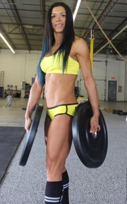 Body Transformation Marcela Perea Went Crossfit And Lost 43 Pounds