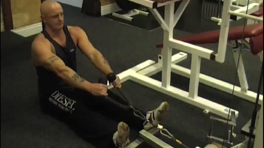 Cable Row to Neck: Video Exercise Guide & Tips