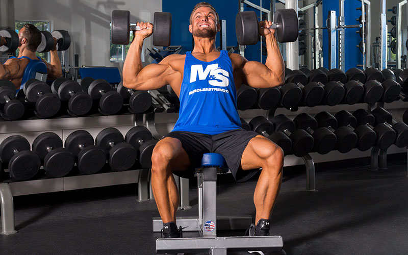 10 Best Shoulder Building Exercises of All Time