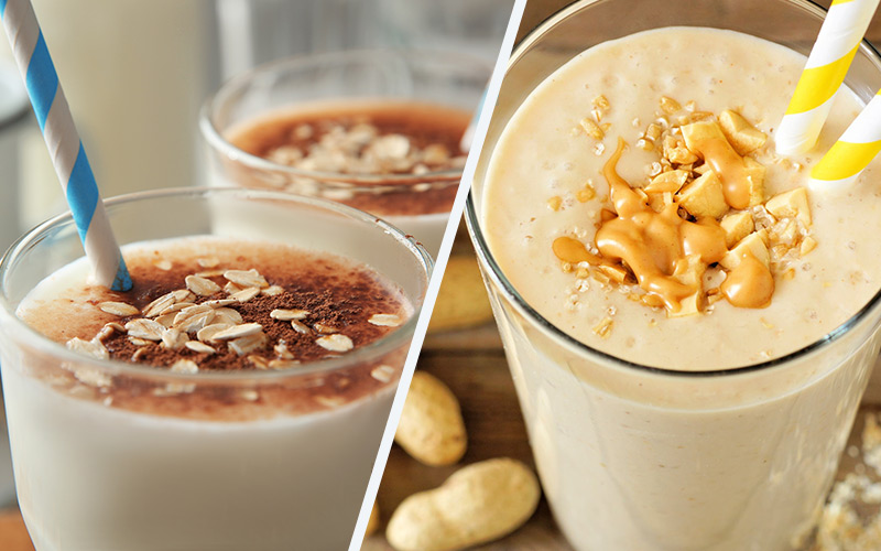 10 Delicious Homemade Weight Gainer Shake Recipes With 800+ Calories |  Muscle & Strength