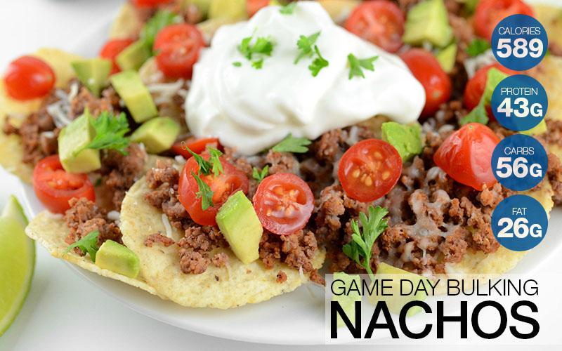 Game Day Bulking Nachos Recipe