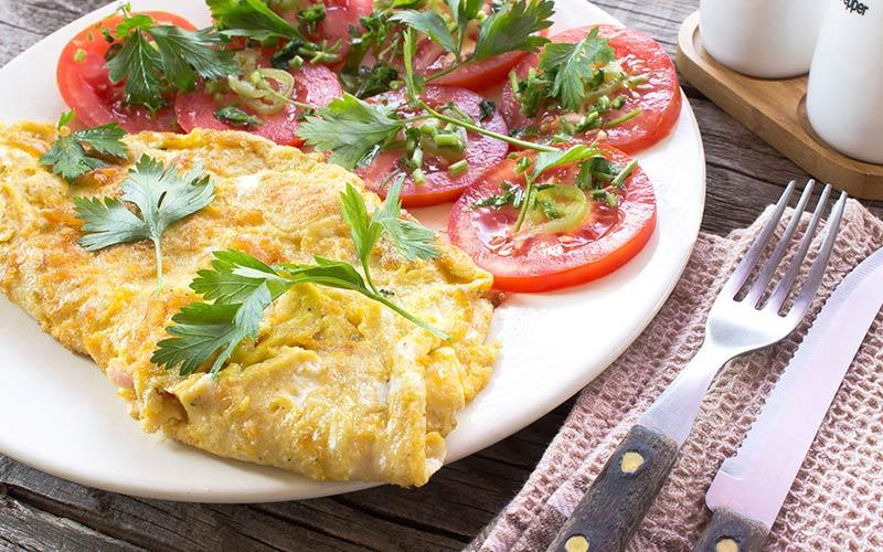 Ground Turkey Omelette Recipe