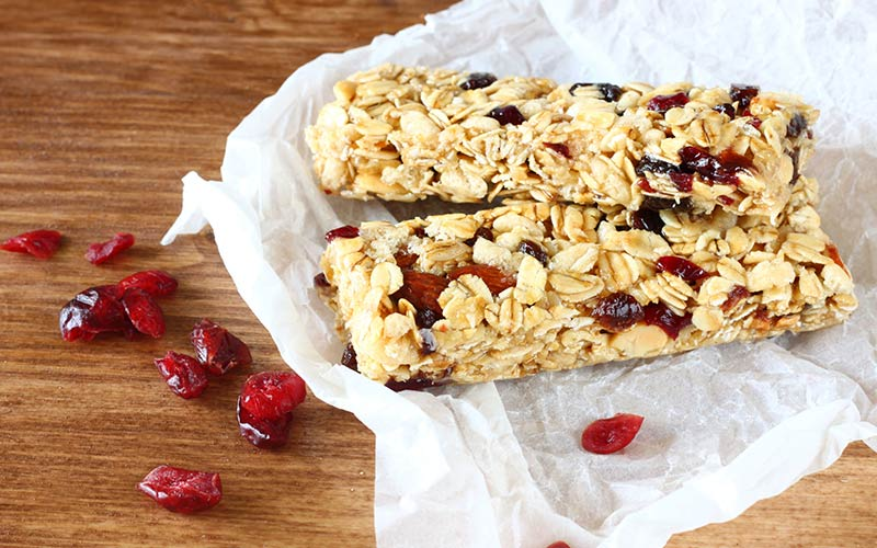 Home Made Protein And Carbohydrate Bar Recipe