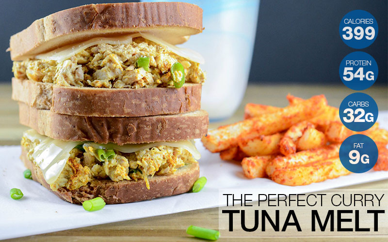 official photos 40b41 f8299 The Perfect Curry Tuna Melt (With Jicama Fries!) Recipe