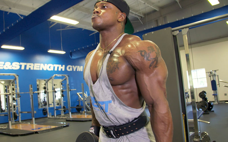 Olympian Shoulder Workout with Brandon Hendrickson