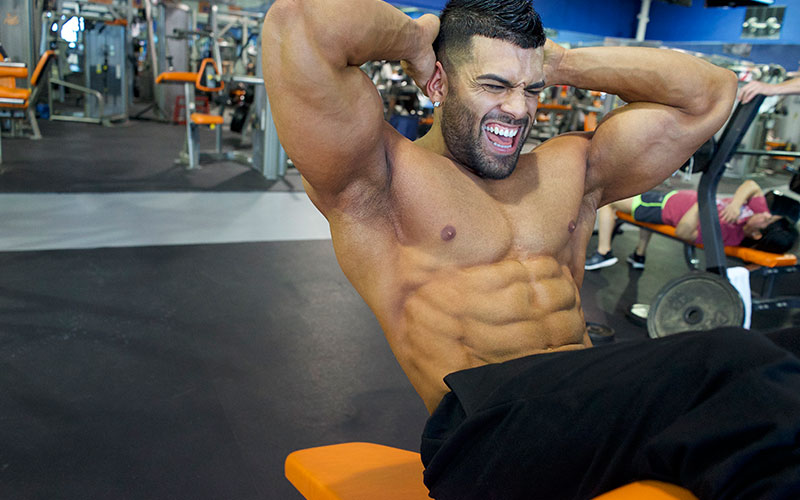 15 Min Quick Ab Circuit for Shredded 6 Pack Abs w/ Gerardo Gabriel