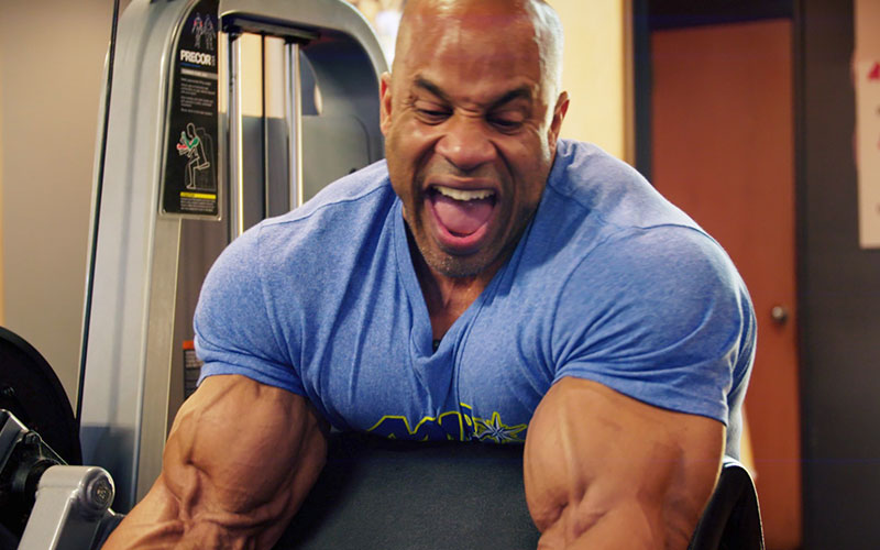 [Video] Victor Martinez's Legendary Arm Day Workout
