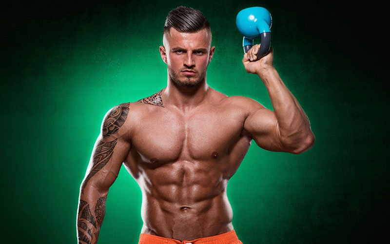 4 Week Beginner Kettlebell Workout For Muscle Growth