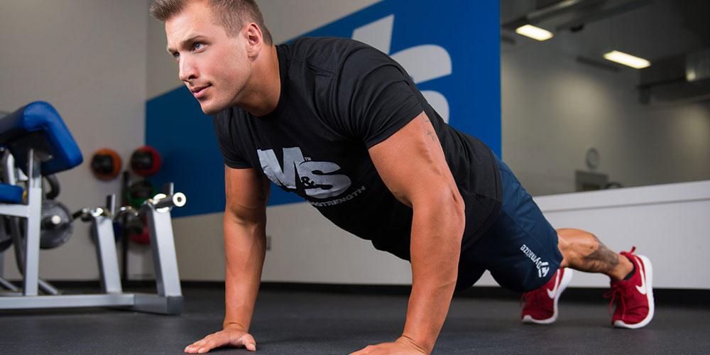 full body workout program for tall guys