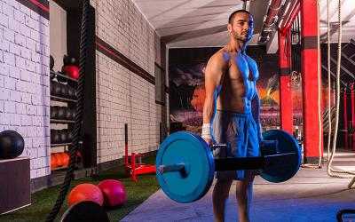 Band Resisted Trap Bar Deadlifts: Build Explosive Power