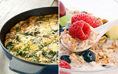 Best protein options for breakfast