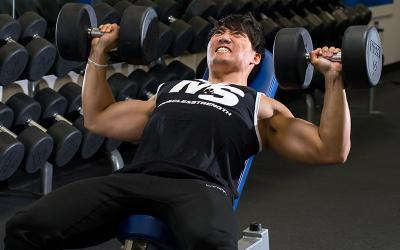 Celebrity muscle gains from creatine
