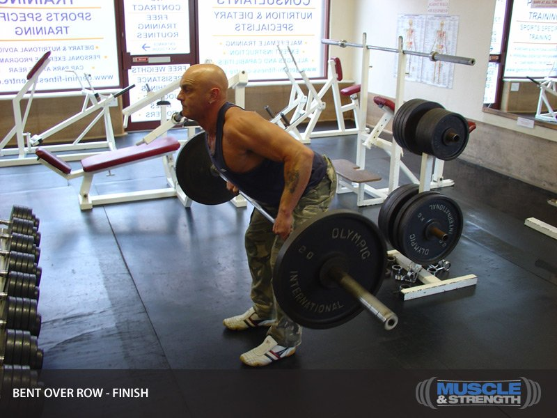Bent Over Row Video Exercise Guide  Tips-4891