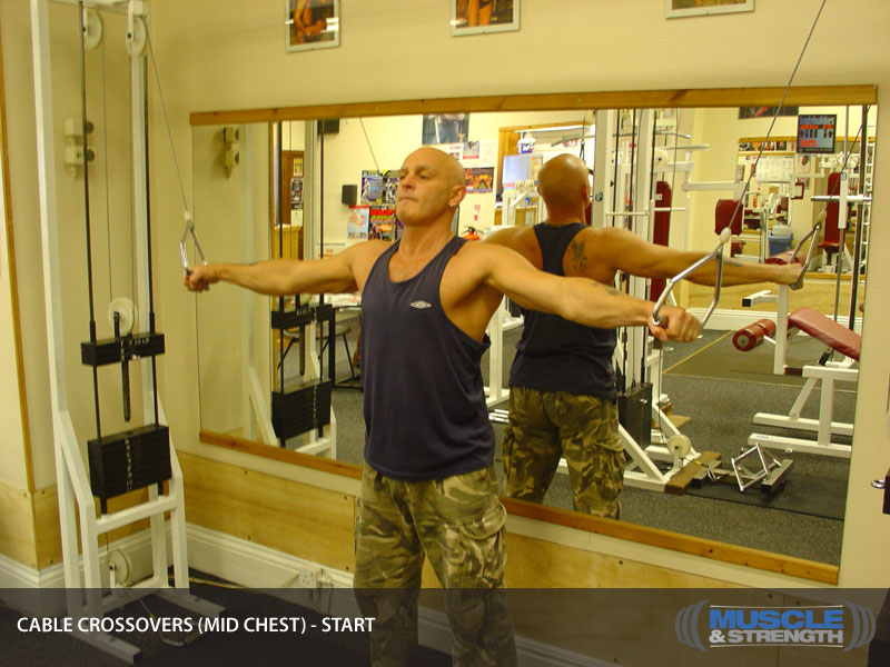 Cable Crossovers Mid Chest Video Exercise Guide Amp Tips Muscle Amp Strength
