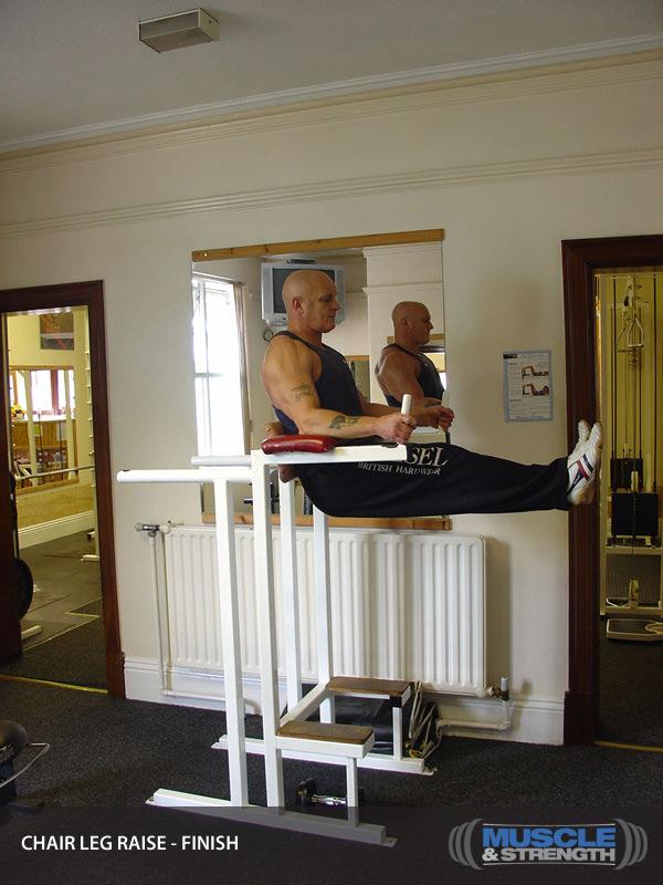 Chair Leg Raise Video Exercise Guide Amp Tips