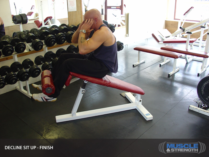 decline sit up video exercise guide  u0026 tips