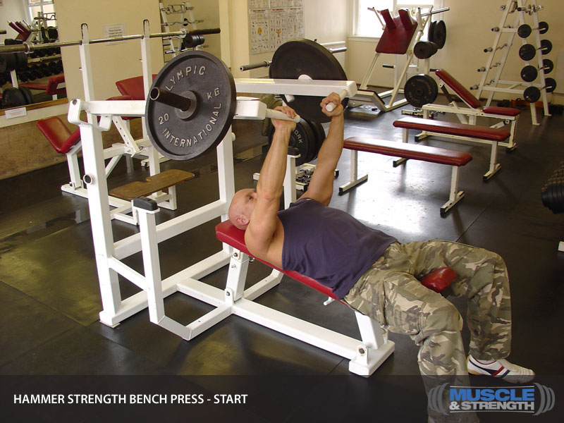 Good Hammer Strength Bench Presses Part - 2: Exercise Profile