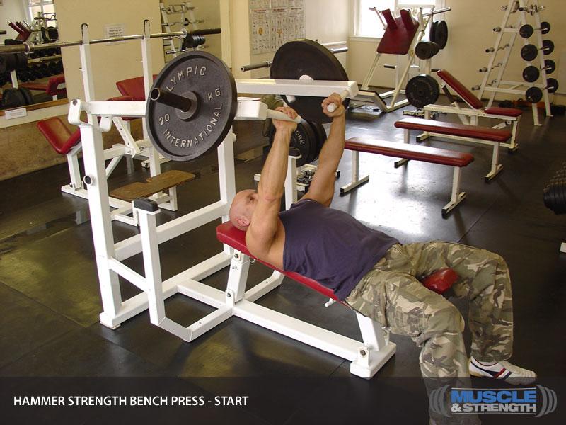 Hammer Strength Bench Press Video Exercise Guide Amp Tips