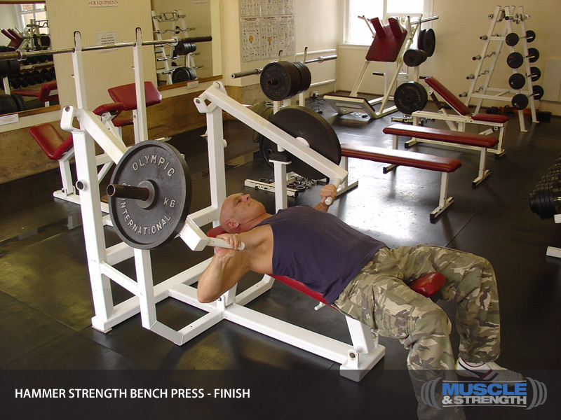 Video Bench Part - 20: Hammer Strength Bench Press Video Guide