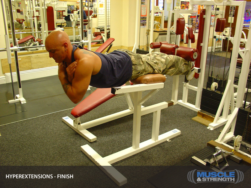Hyperextensions on At Home Strength Training Workouts For Women
