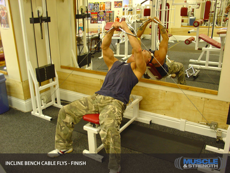 Incline Cable Flys Video Exercise Guide Amp Tips Muscle