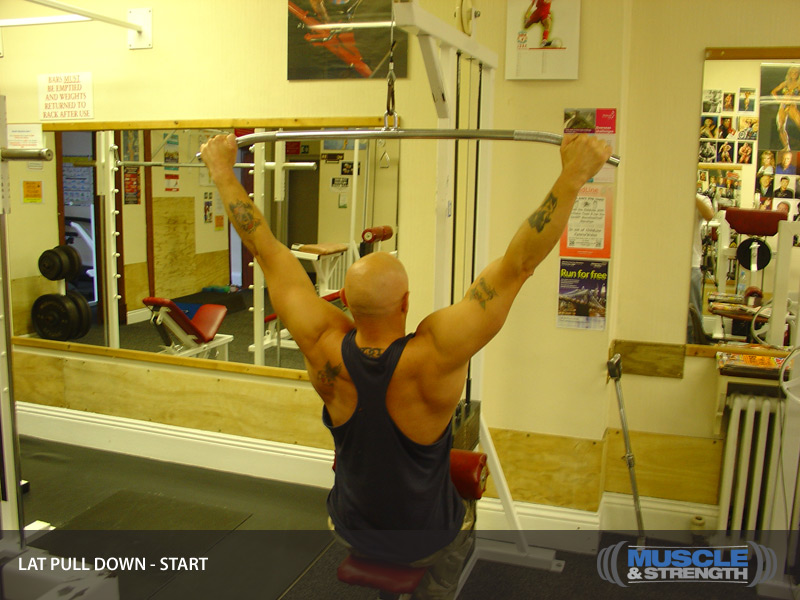 Lat Pull Down Video Exercise Guide Amp Tips