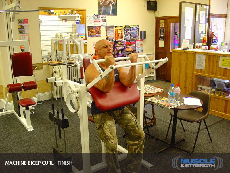 biceps machine - photo #1