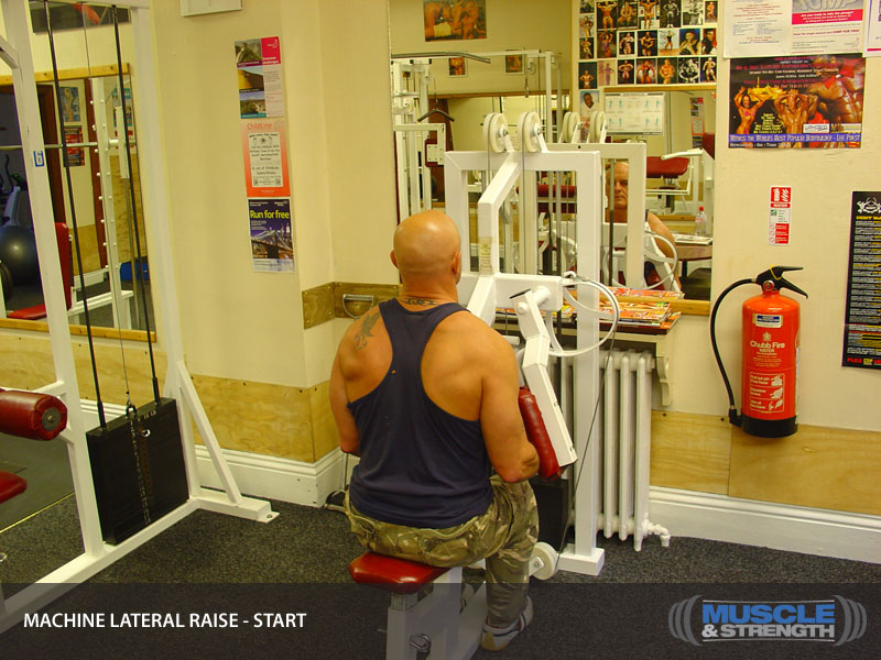 lateral workout machine