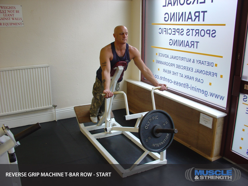 Reverse Grip Machine T-Bar Row: Video Exercise Guide & Tips