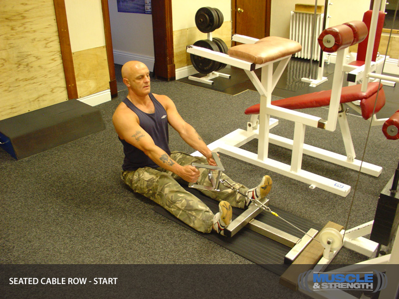 Seated Cable Row Video Exercise Guide & Tips | Muscle ...