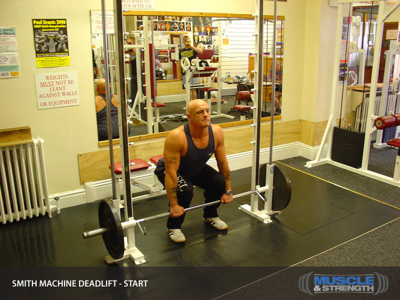 Smith Machine Deadlift Video Exercise Guide Amp Tips