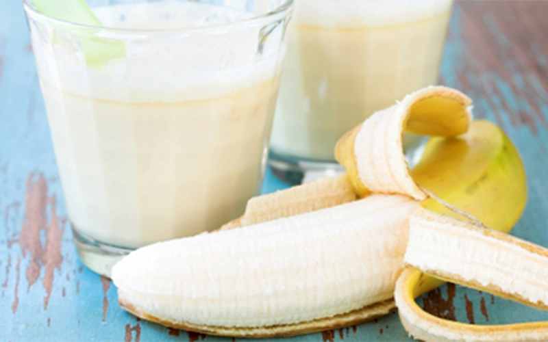 Banana And Oats Protein Shake