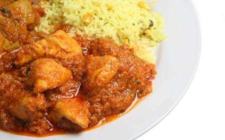 Bodybuilders Low Fat Chicken Curry
