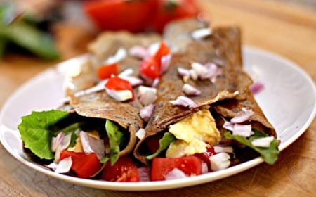 Easy Gluten-Free Buckwheat Protein Crepes