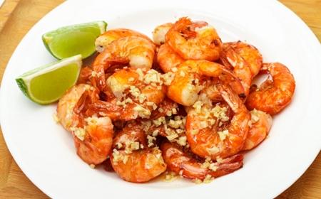 Lime Garlic Fiesta Shrimp