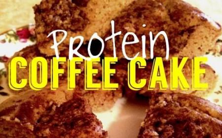 Healthy High Protein Cinnamon Coffee Cake Recipe