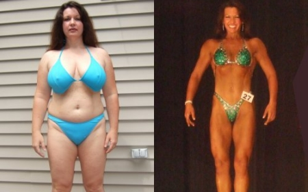 Body Transformation: Liz Buffone Body Transformation