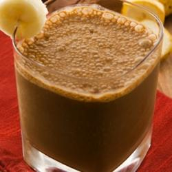 Chocolate Caramel And Coffee Protein Shake
