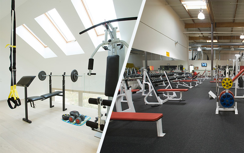 Gym membership vs home gym choosing the right gym