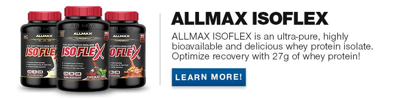 Allmax banner ISOFLEX