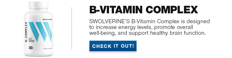 Swolverine B-Vitamin Complex product banner
