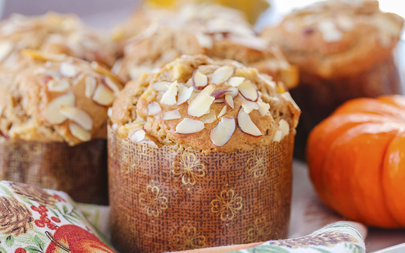 Muffins with Almonds