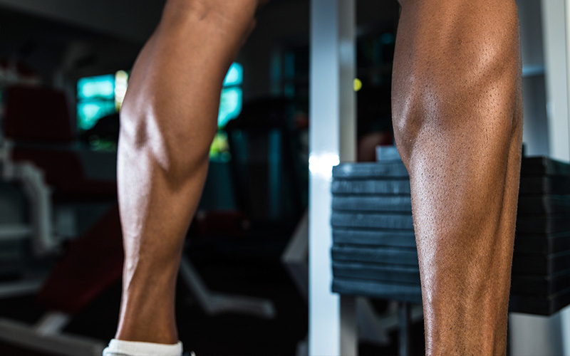 5 Most Effective Exercises for Building Calves - Standing Calf Raises